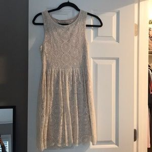 Altard State cream lace dress